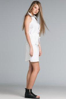 Mia - Sukienka & bluzka z wysokim kołnierzem 2w1 Mia057