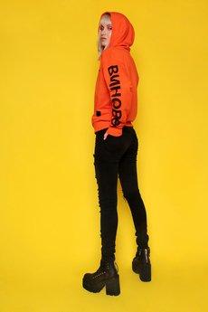 Animals Wave - Guilty Orange Hoodie Bluza