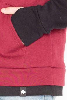 Visent - Bluza V031 Bordo