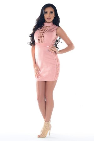 Sukienka różowa Violetta