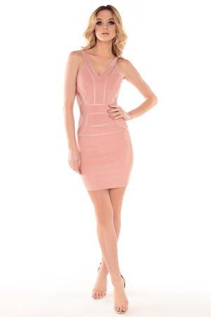 Sukienka różowa Nadine
