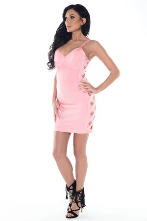 Sukienka różowa Miranda