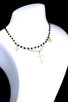 Brazi Druse Jewelry - Choker Spinel złoto