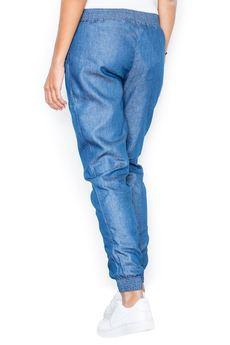 FIGL - Spodnie M307 Niebieski