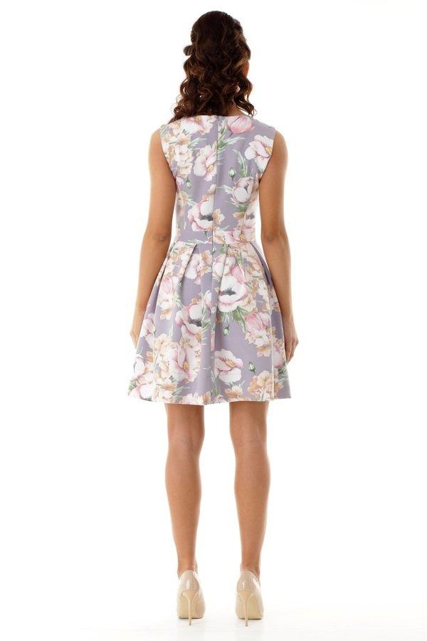 62a18eef27 Sukienki Wizytowe Sukienki z Rękawkiem Sukienki w Kwiaty Sukienki z Kontrafałdą  Sukienki Koktajlowe Sukienki Eleganckie Sukienki Wieczorowe Sukienki ...
