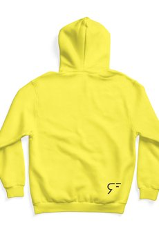 REST_FActory - no shame yellow hoodie