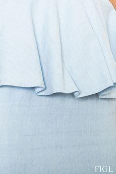 FIGL - Sukienka M401 Błękit