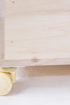 Linden klocki - Drewniana skrzynia Linden 45x45x40cm
