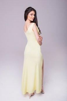 """Waisted - Sukienka """"Rozalia"""" - cytrynowa"""