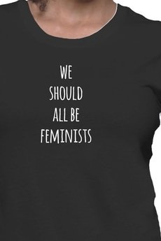 FUNfara - We Should All Be Feminists t-shirt