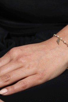 Brazi Druse Jewelry - Bransoletka Perły złoto piórko
