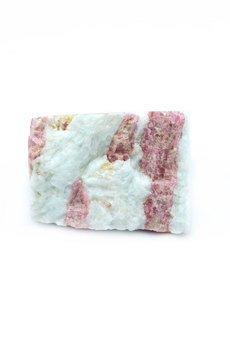 Brazi Druse Jewelry - InspiRING Turmalin Różowy rozmiar 16