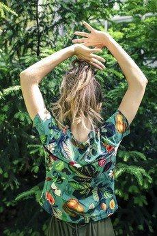 dzieńdobry - T-shirt damski WARZYWNIAK