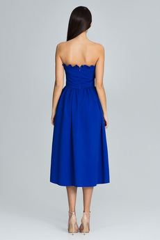 FIGL - Sukienka602 Niebieski