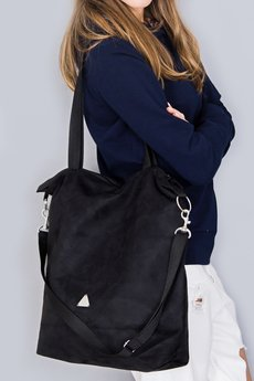 drops - torba black simple