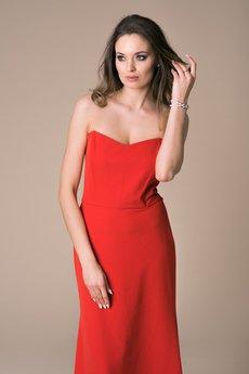 NAT Fashion Room - Sukienka Maxi Red