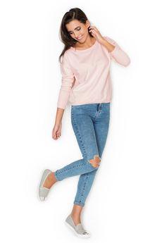 KATRUS - Bluza K235 Róż