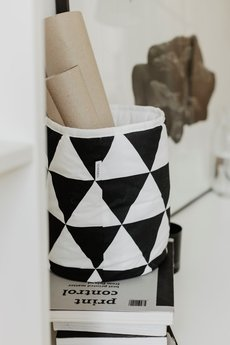 So Homely - Mały kosz duże trójkąty
