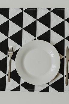 So Homely - Bieżnik na stół duże trójkąty