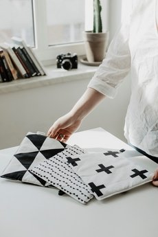 So Homely - Łapka kuchenna/podstawka małe trójkąty