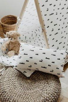 So Homely - Prostokątna poduszka góry i króliczki
