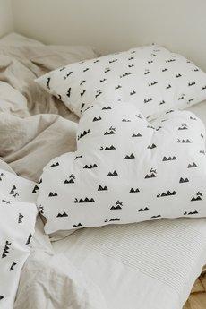 So Homely - Poduszka chmurka góry i króliczki