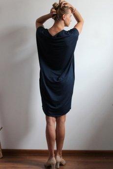 Szarymary - Sukienka oversize z kieszeniami