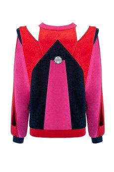 OKUAKU - Freya Sweatshirt (Pink&Red)