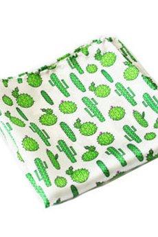 EDYTA KLEIST - Poszetka jedwabna Kaktus