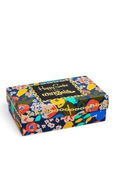 HAPPY SOCKS - Giftbox Happy Socks x Wiz Khalifa - 3Pack (XWIZ08-6000)
