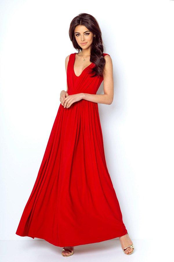 ec05855e19 Sukienka Rebeca - Czerwony