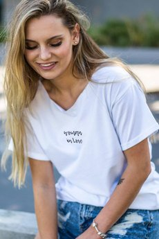 GAU great as You - WOMAN IN LOVE t-shirt oversize