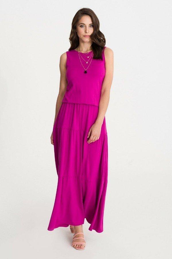 f0ff8ea137 Sukienka Bohema Fuksja - Różowy