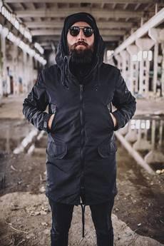 The Urban Beard - Parka All Black