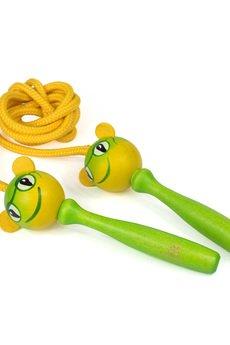 Tarnawa Toys - Drewniana skakanka żabka
