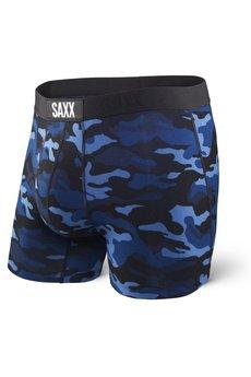 SAXX - BOKSERKI MĘSKIE SAXX VIBE - BLUE CAMO