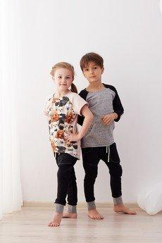 cudiKiDS - Czarne spodnie BAGGY