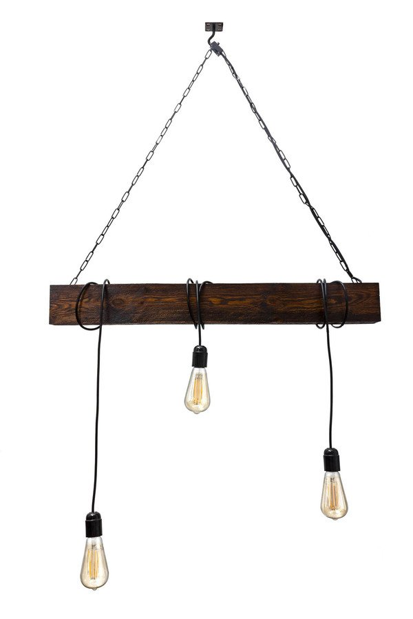lampy sufitowe drewno