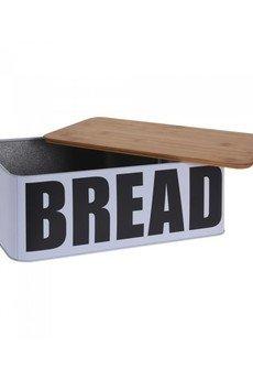 MIA home passion - Chlebak Bread Z Deską Bambusową
