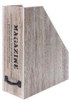 MIA home passion - Drewniany Organizer Na Dokumenty 30 Cm