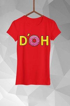 - T-shirt Pączkowe DOH Damski