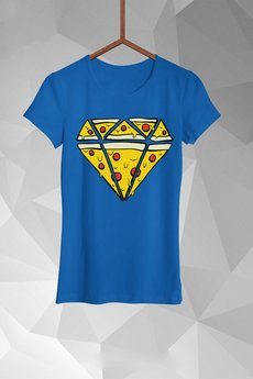 FailFake - T-shirt Pizza Diamend Damski