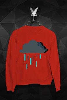 FailFake - Bluza Deszczowe Chmurki Damska