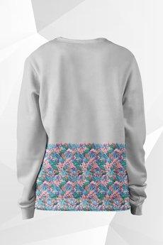 - Bluza Fullprint Kwiatki Damska