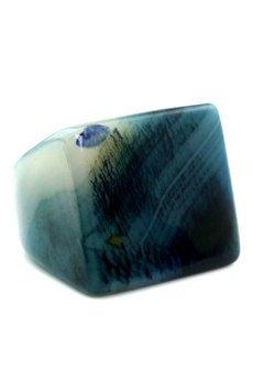 Brazi Druse Jewelry - InspiRING Agat Granat Rozmiar 19
