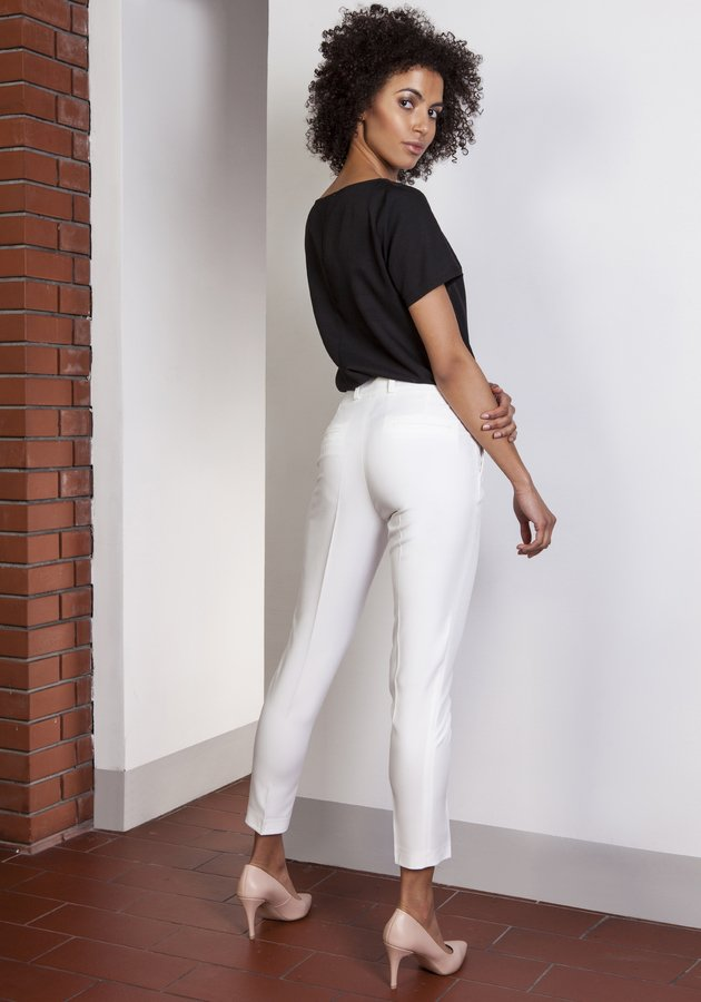 0444dd29b5529e Spodnie Damskie Zwężane Spodnie Damskie z Kieszeniami Spodnie Damskie z Wysokim  Stanem · Lanti