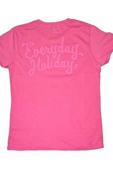 "Everyday Holiday - KOSZULKA EVERYDAY HOLIDAY ""AZALEA PINK"" DAMSKA"