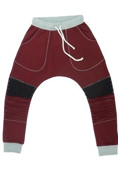 cudiKiDS - Spodnie baggy BORDO PATCH