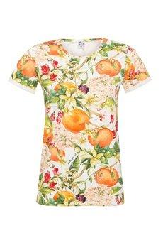 Pinky Planet - T- shirt Orange