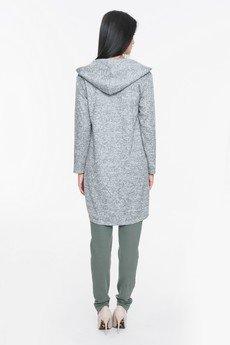 Mosali - Mosali - Długi Sweter z Kapturem M010